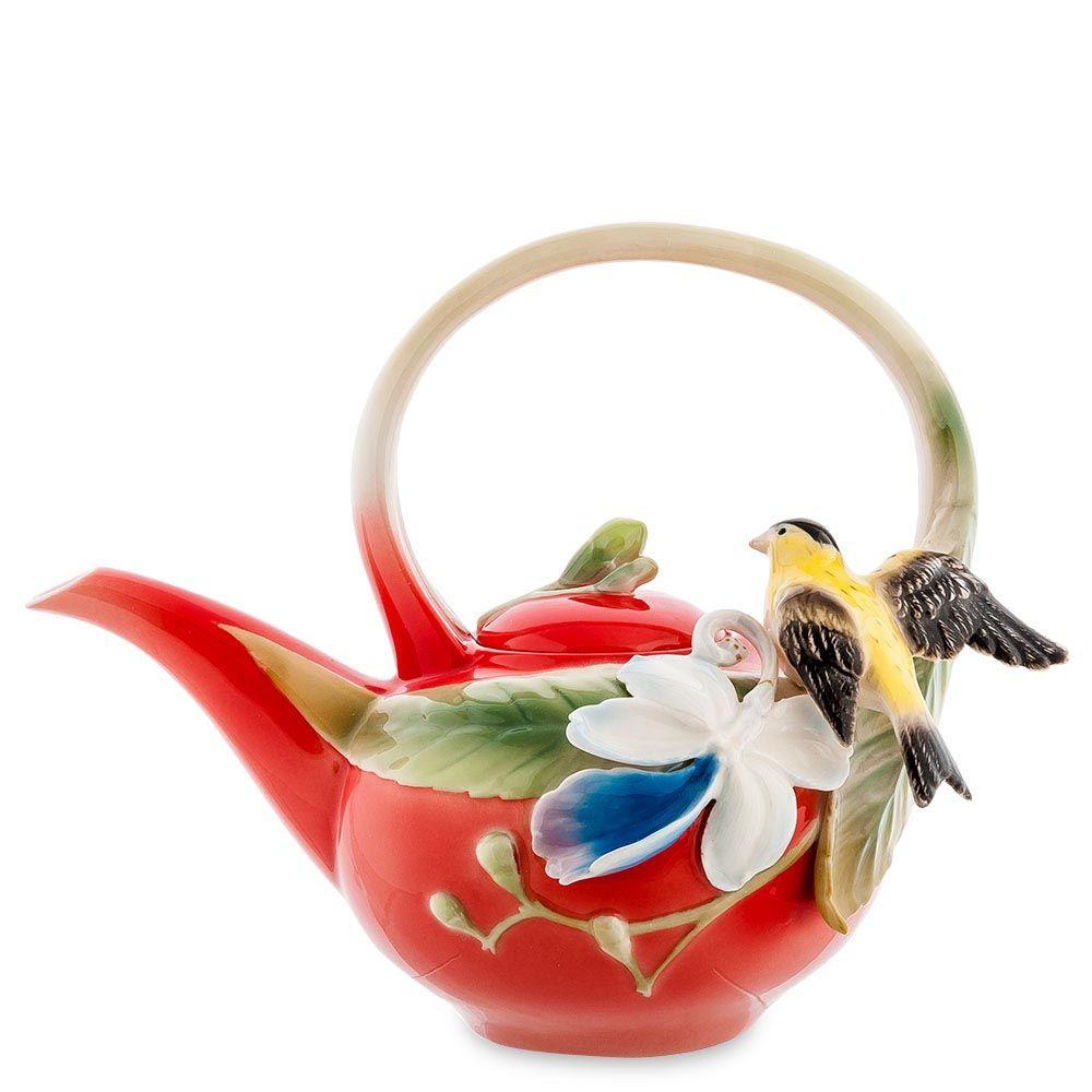 Заварочный чайник Pavone Иволга и Орхидея