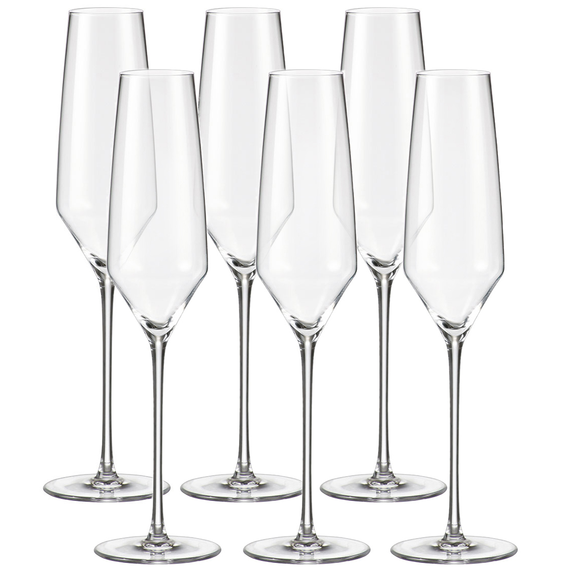 Набор бокалов для шампанского FMF Bohemia Elizabeth 200мл