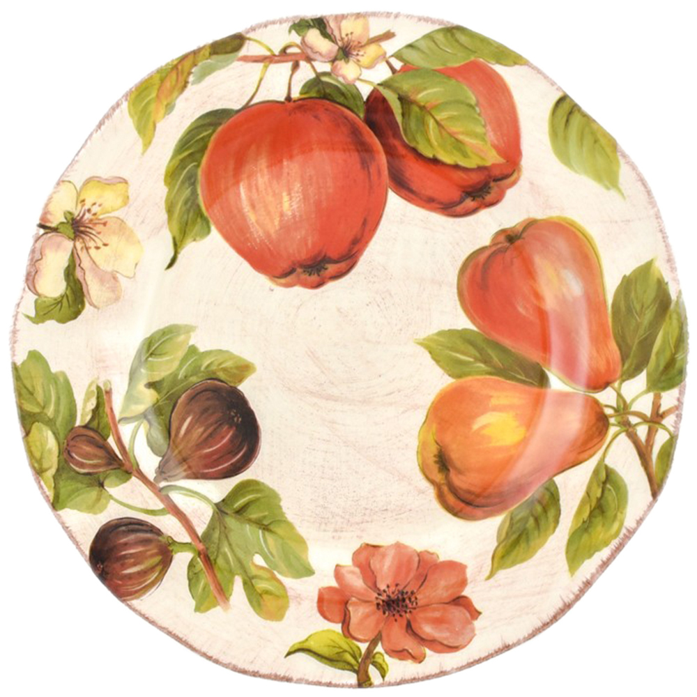Тарелка обеденная Villa Grazia Осенний ноктюрн 30см