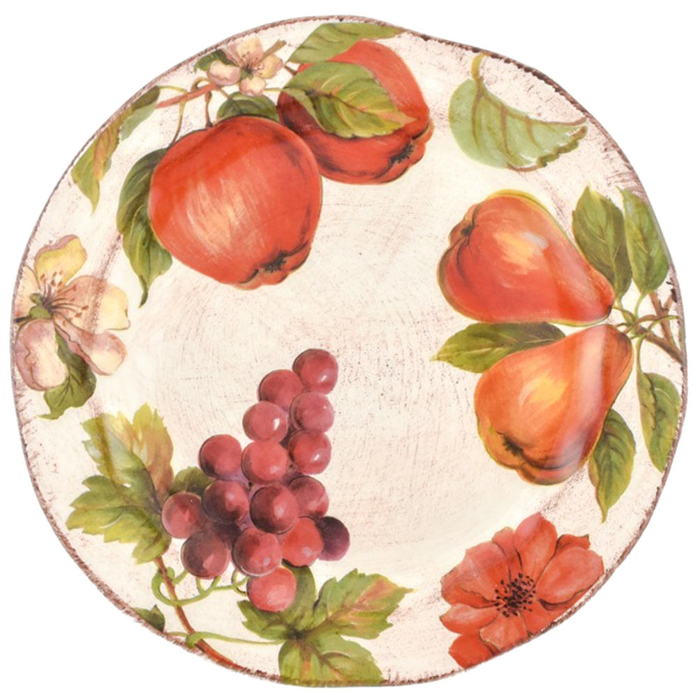Тарелка для салата Villa Grazia Осенний ноктюрн 21см