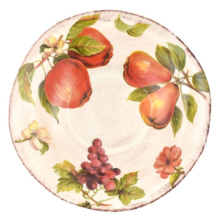 Большой салатник Villa Grazia Осенний ноктюрн 38см