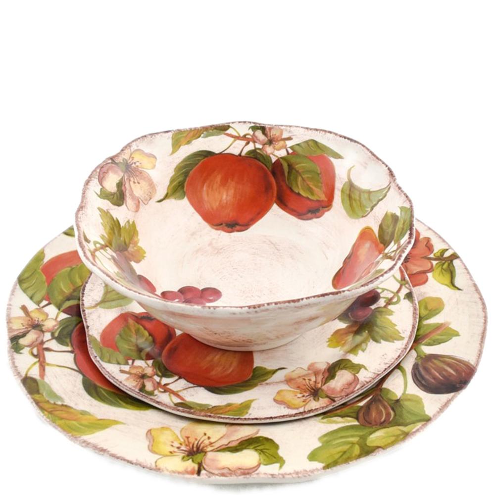 Тарелка для супа Villa Grazia Осенний ноктюрн 19см