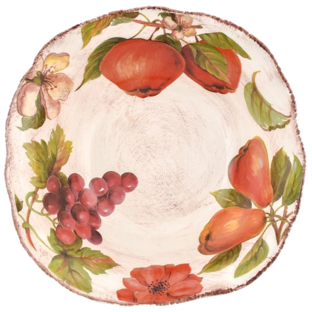 Набор тарелок для супа Villa Grazia Осенний ноктюрн на 6 персон