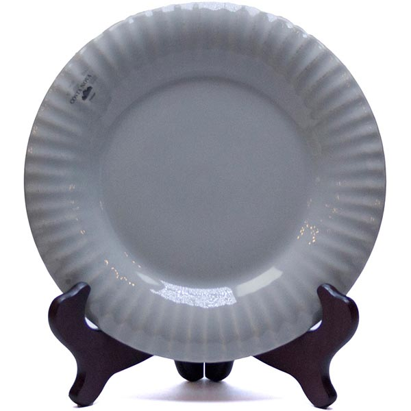Набор из 6 тарелок Costa Nova Village серого цвета 22см