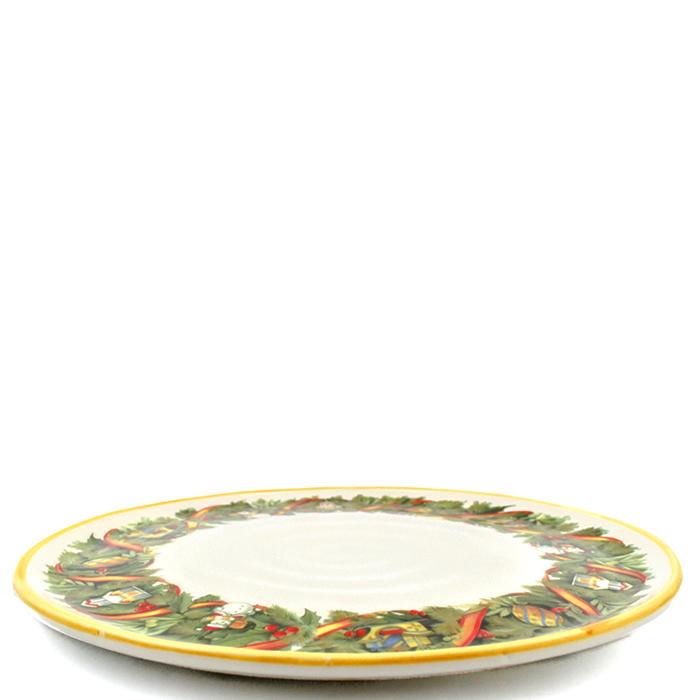 Набор обеденных тарелок Villa Grazia Яркое Рождество на 6 персон