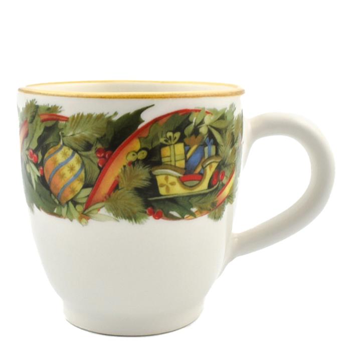 Чашка для чая Villa Grazia Яркое Рождество