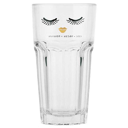 Высокий стакан Miss Etoile с закрытыми глазами