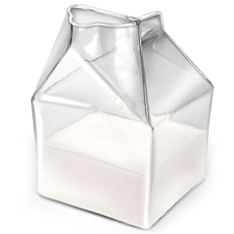 Молочник Fred and Friends в виде распечатанного пакета
