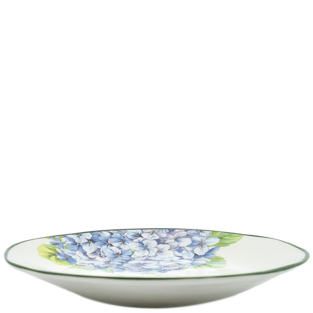 Тарелка обеденная Villa Grazia Голубая гортензия 29см