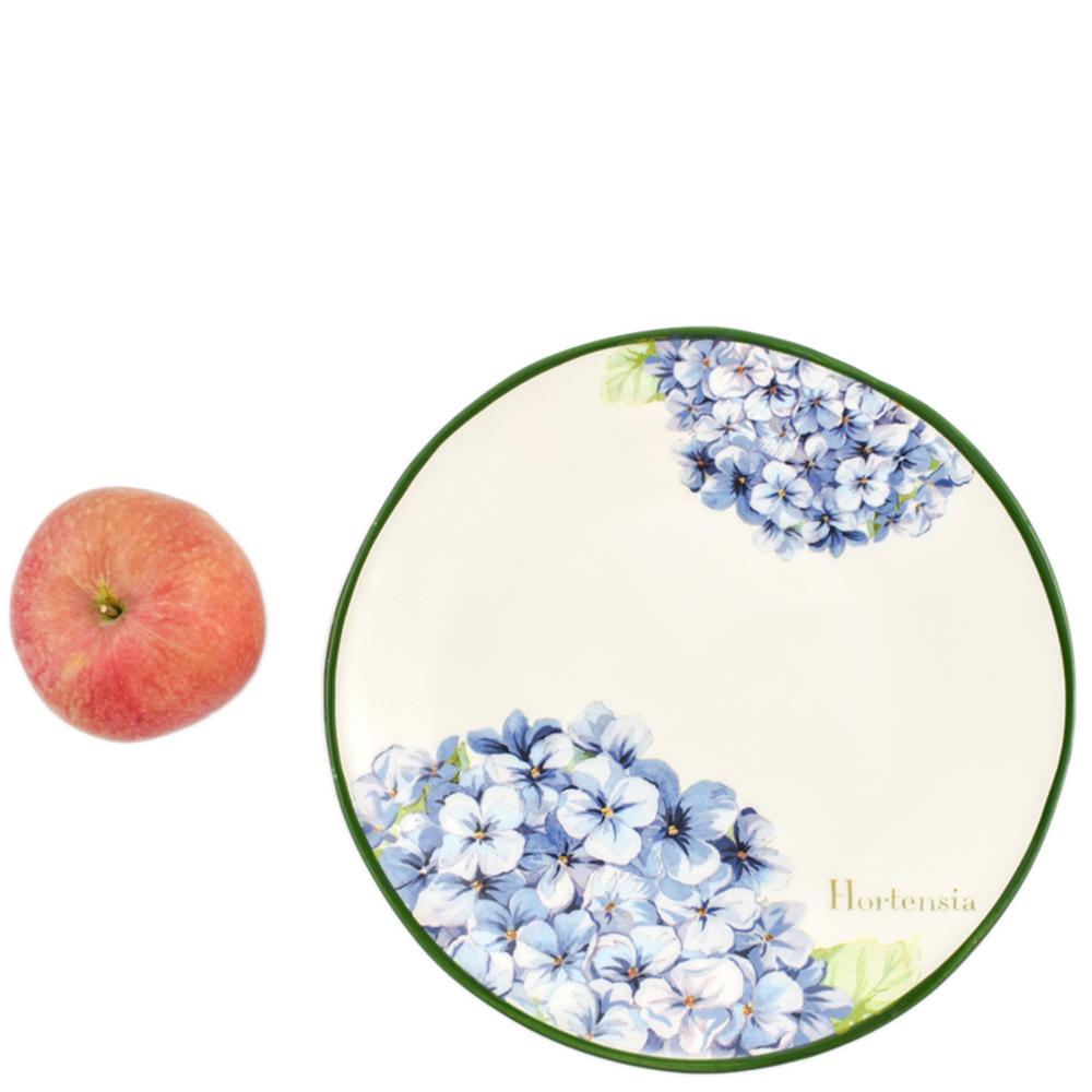 Набор тарелок для салата Villa Grazia Голубая гортензия на 6 персон