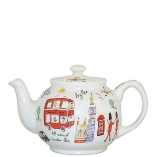 Чайник с крышкой Churchill London Travel James Sadler