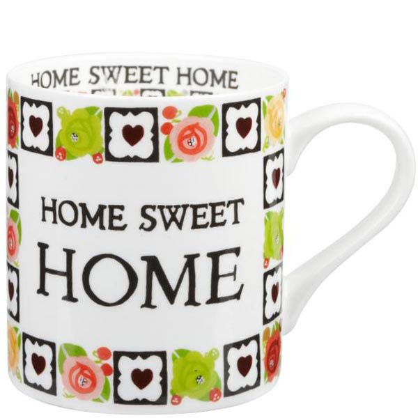 Чашка Churchill Julie Dodsworth Милый дом объемом 0.34 л