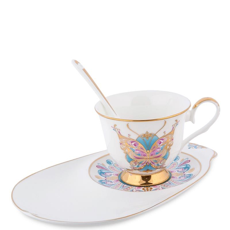 Чайная пара Pavone Песня Мотылька