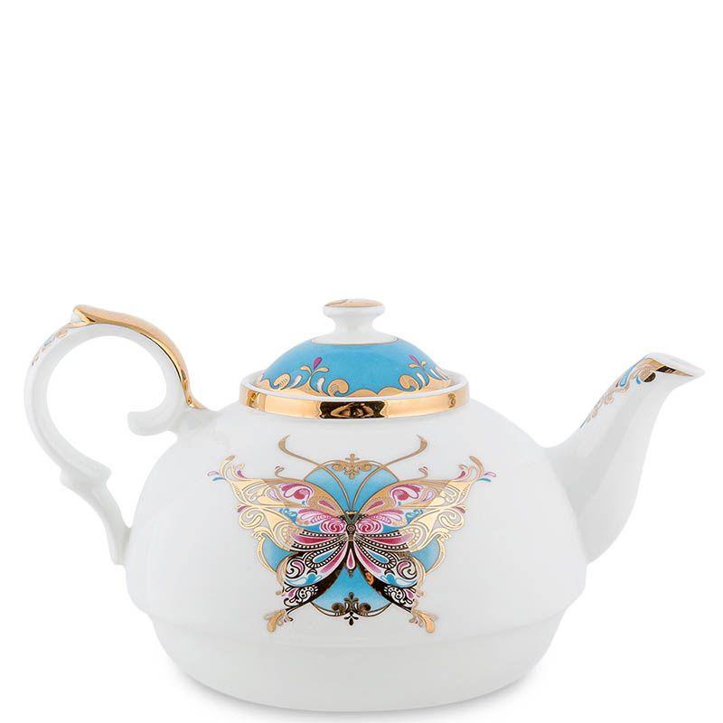 Чайный набор Pavone из фарфора Песня Мотылька