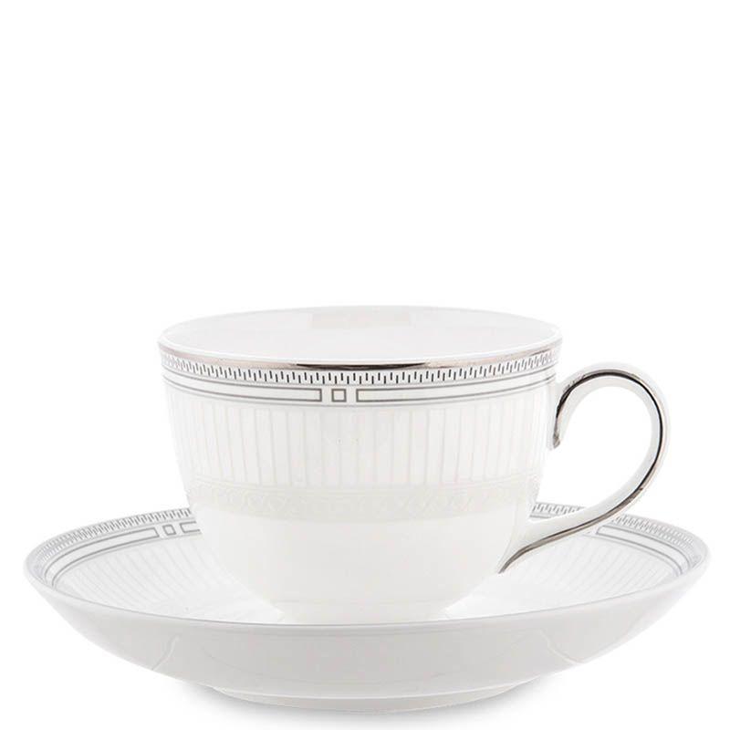 Чайный набор Pavone из фарфора на две персоны Венецианская Классика
