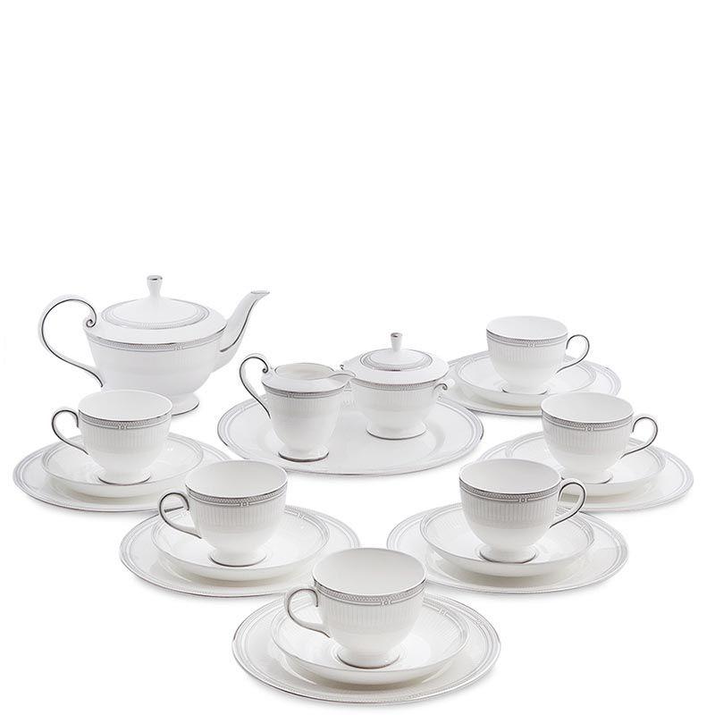 Чайный сервиз Pavone на шесть персон Венецианская Классика