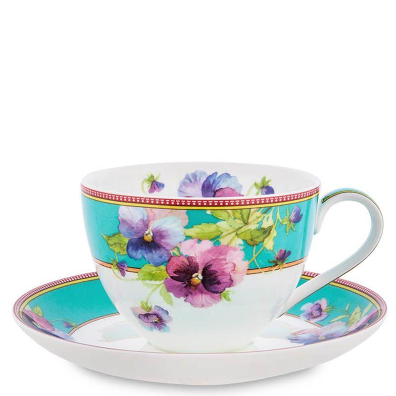 Чайный набор Pavone на шесть персон Виола Viola
