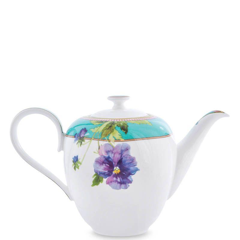 Чайный сервиз Pavone из фарфора на шесть персон Viola