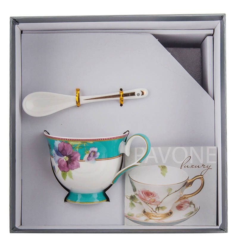 Чайная пара Pavone Viola