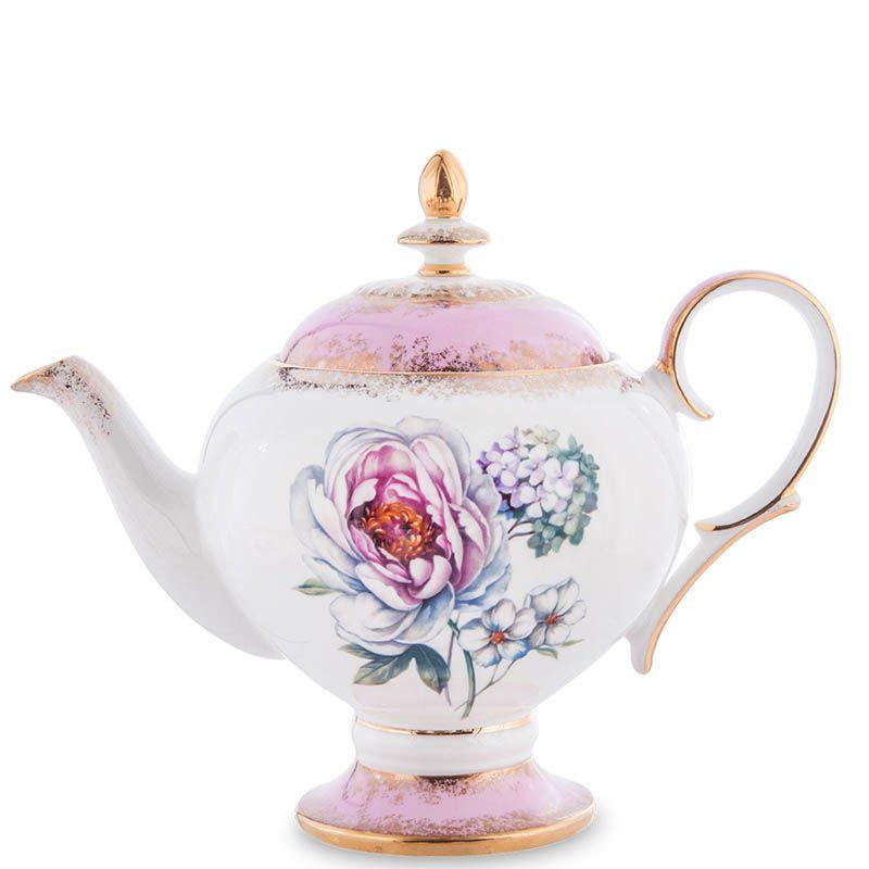 Чайный сервиз Pavone на шесть персон Цветок Неаполя