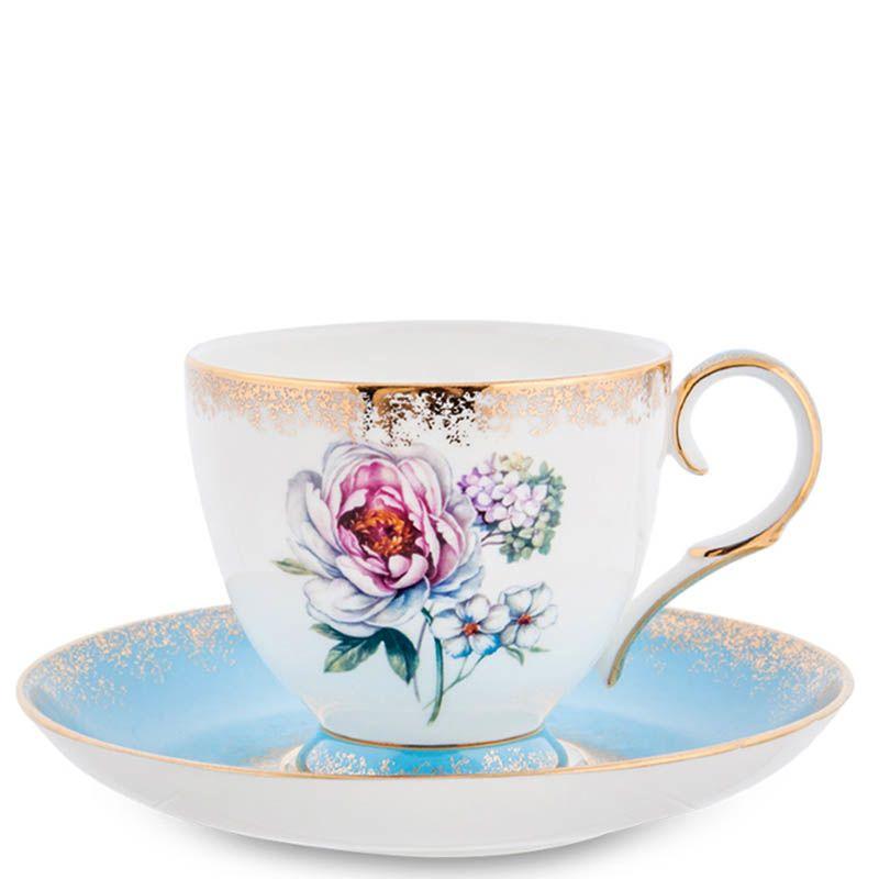 Чайный набор Pavone на две персоны Цветок Неаполя