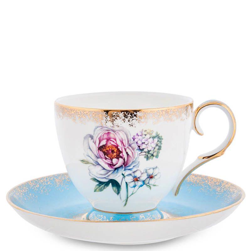 Чайный набор Pavone на шесть персон Цветок Неаполя