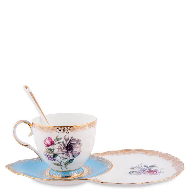 Чайная пара Pavone Цветок Неаполя
