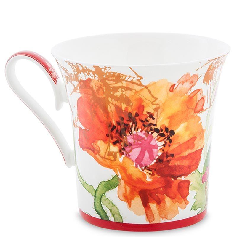Чашка Pavone Маки Papavero