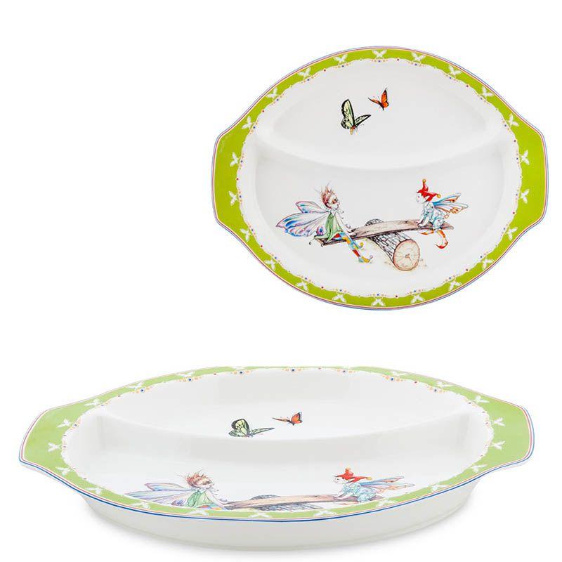 Детский набор Pavone Buona Elf с круглой тарелкой