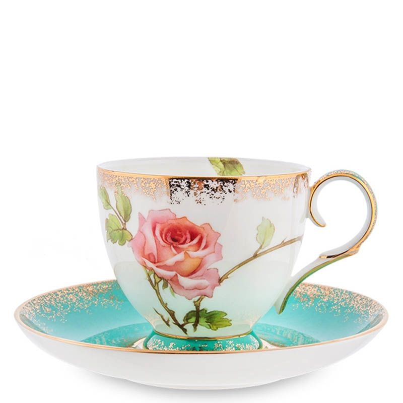 Чайный набор Pavone Milano Rose на четыре персоны
