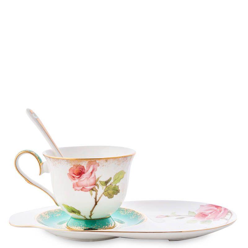 Чайная пара Pavone Milano Rose