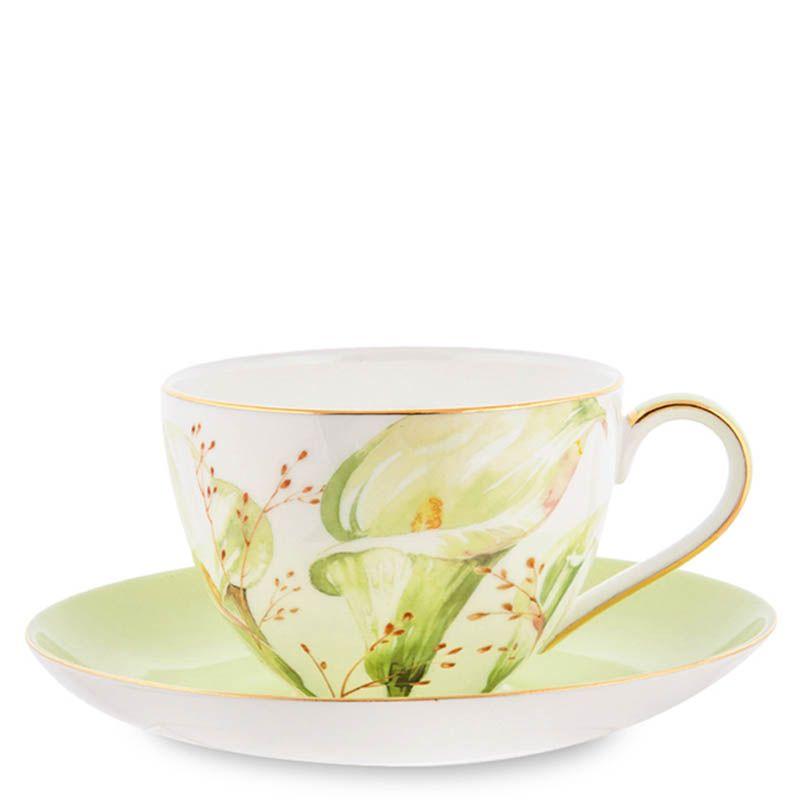 Чайный набор на четыре персоны Pavone Calla Charme