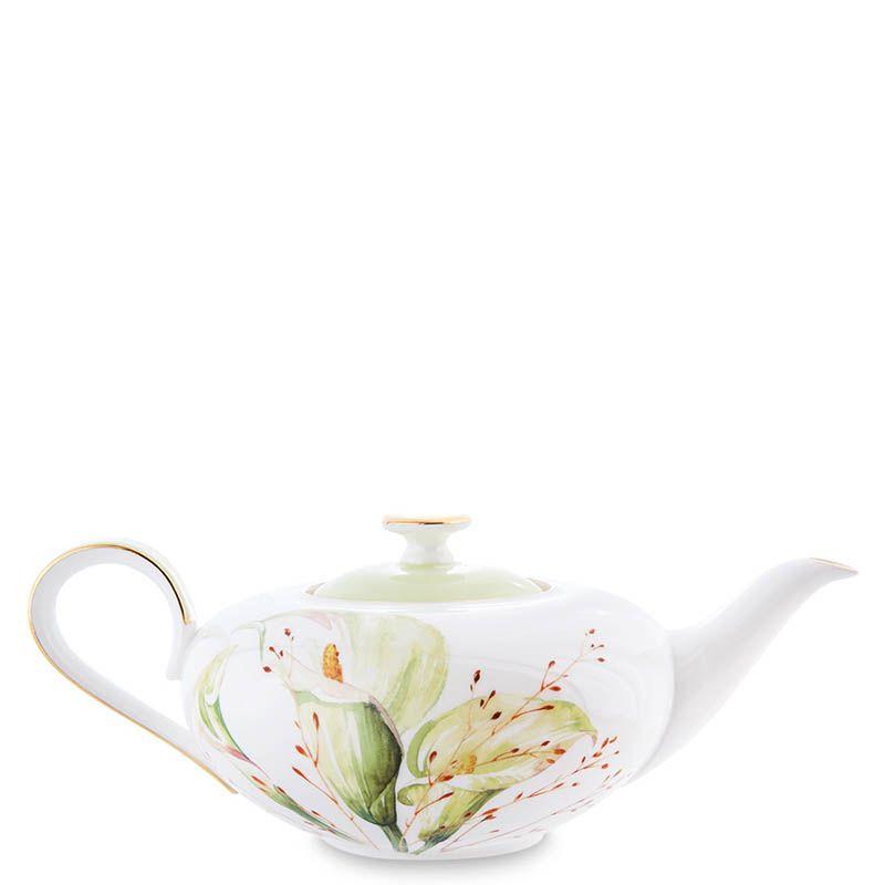Чайный сервиз на шесть персон Pavone Calla Charme из фарфора