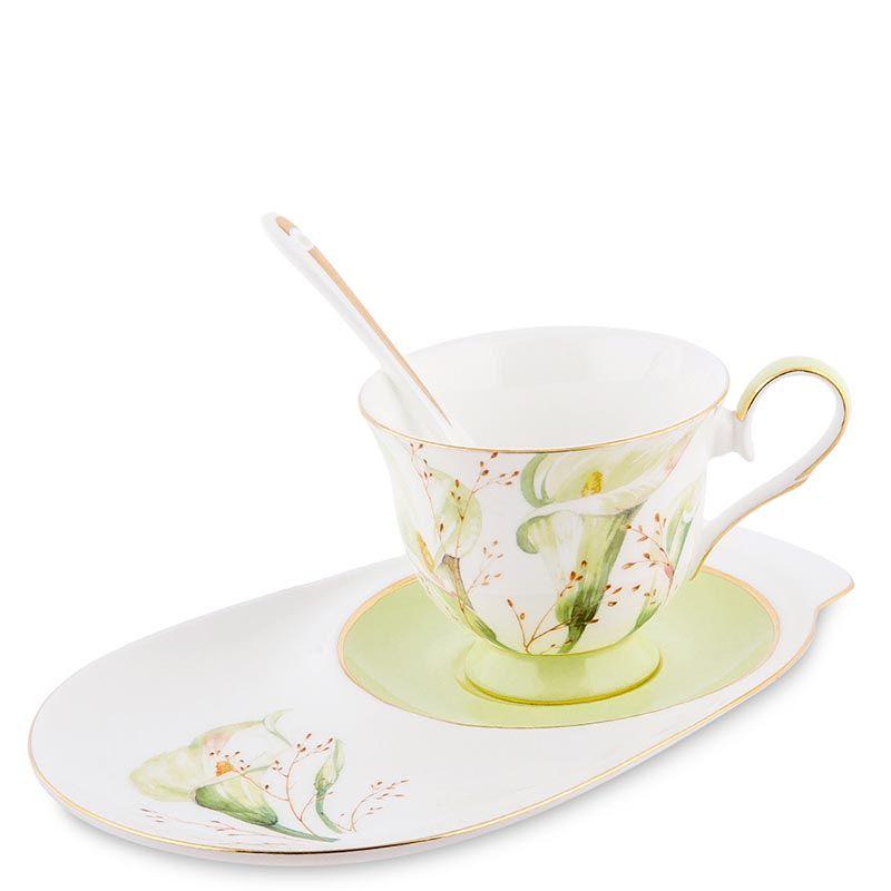 Чайная пара Pavone Calla Charme