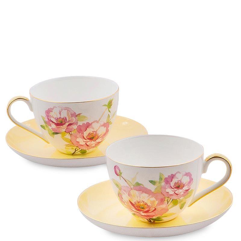 Чайный набор Pavone Torino Peony на две персоны