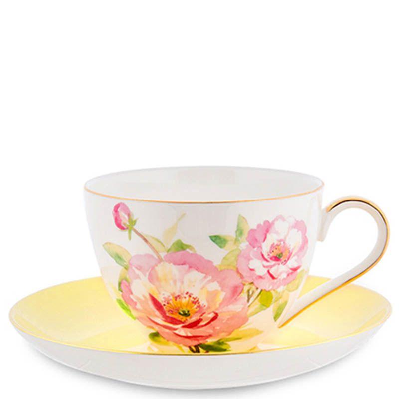 Чайный набор Pavone Torino Peony на четыре персоны