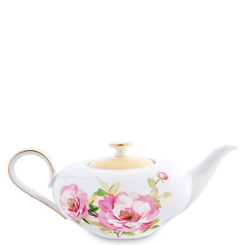 Чайный сервиз на шесть персон Pavone Torino Peony
