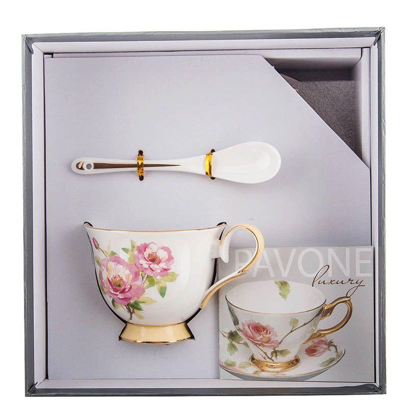 Чайная пара Pavone Torino Peony