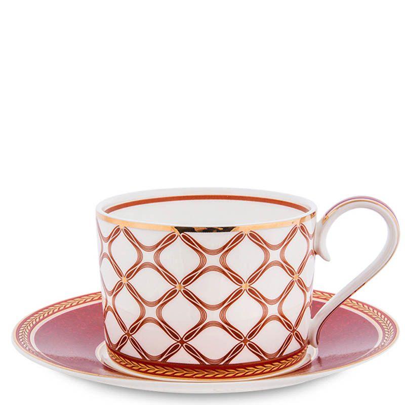 Чайный набор Pavone на шесть персон Eleganza из фарфора
