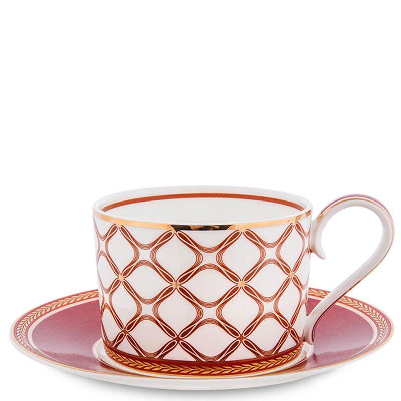 Чайный сервиз Pavone на шесть персон Eleganza