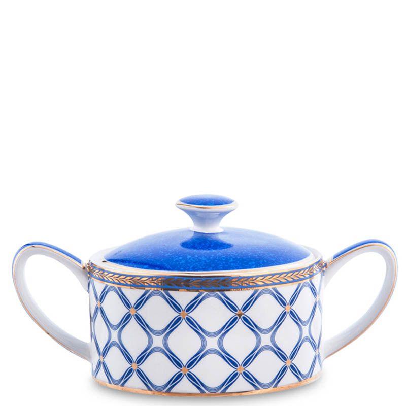 Чайный сервиз Pavone из фарфора на шесть персон Eleganza