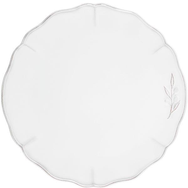 Белое блюдо Costa Nova Alentejo 34см