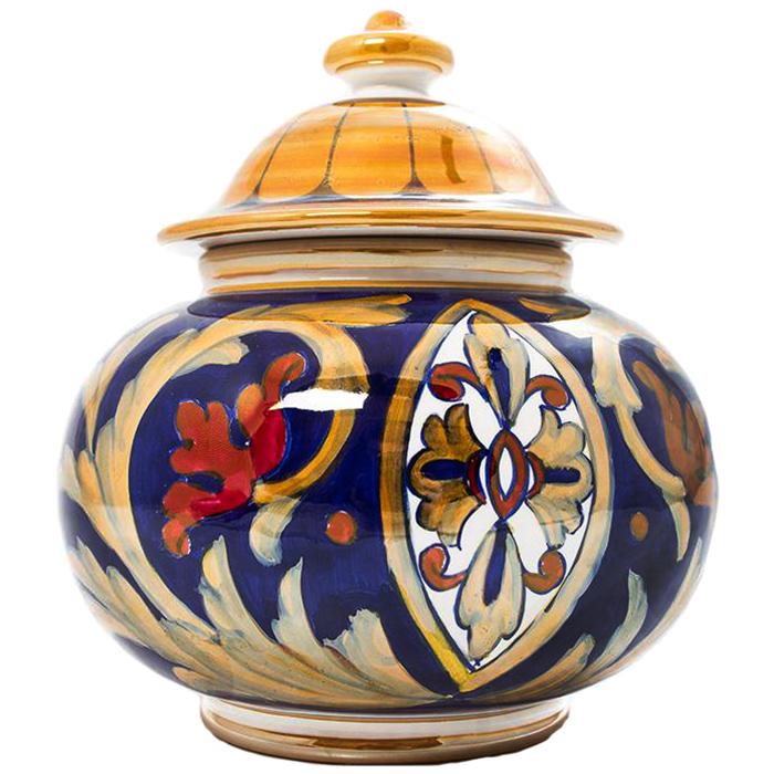 Емкость для хранения L'Antica Deruta Lustro Antico округлой формы