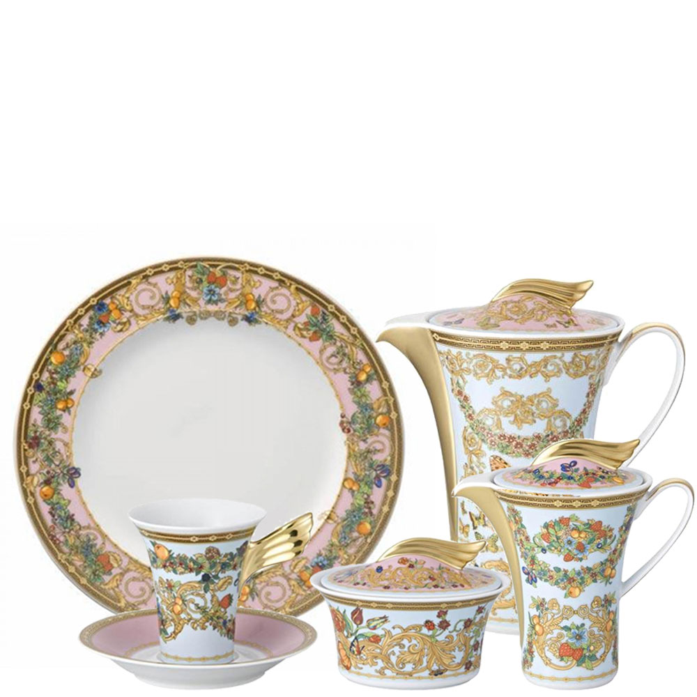 Сервиз кофейный-американо Rosenthal Versace Le Jardin