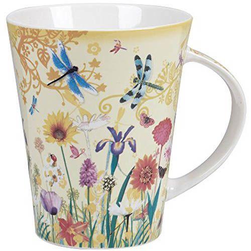 Чашка Churchill Lemon Grass объемом 0,37 л с цветочным рисунком