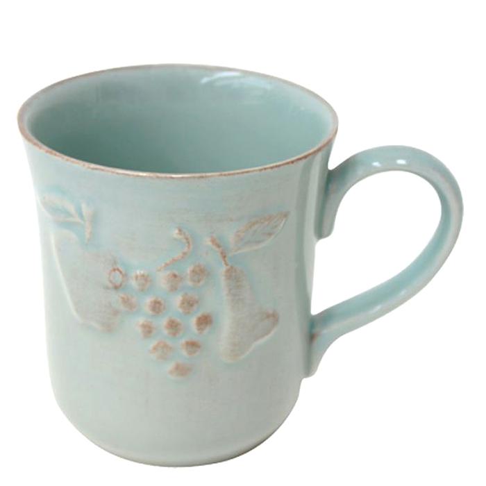 Бирюзовая чашка Costa Nova Mediterranea 300мл