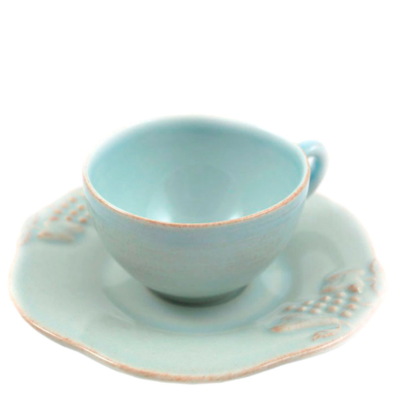 Кофейный набор на 6 персон Costa Nova Mediterranea из чашек и блюдец