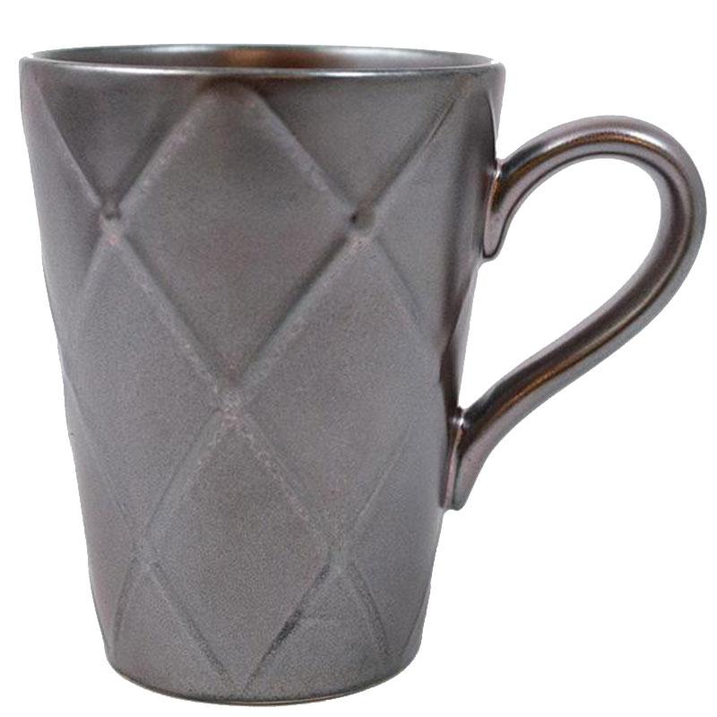 Чашка Costa Nova Meridian металлик 340мл