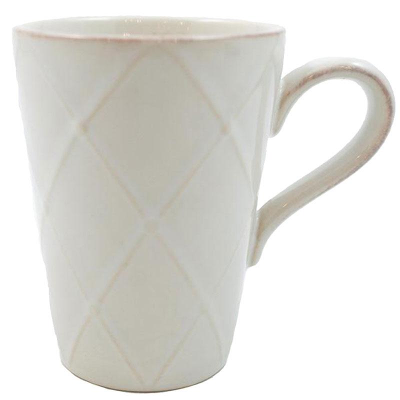 Чашка Costa Nova Meridian белая 340мл