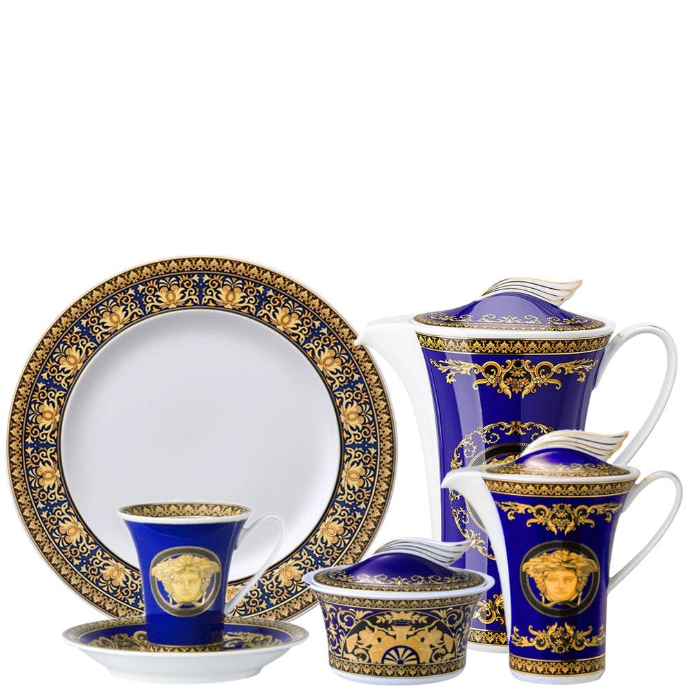 Кофейный сервиз для эспрессо Rosenthal Versace Medusa Blau
